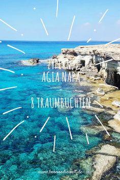 Agia Napa, zu Deutsch der Heilige Wald, ist für mich ab sofort der Ort der traumhaften Meeresbuchten auf Aphrodites Insel Zypern. Kristallklares, azurblaues Wasser, malerische Buchten und atemberaubende Strände erwarten mich. Finde hier die schönsten Strände und Buchten.