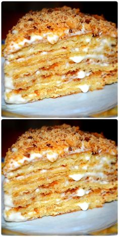 Russian Cakes, Honey Cake, Cupcakes, Food Hacks, Macaroni And Cheese, Cake Recipes, Clean Eating, Food And Drink, Cooking Recipes