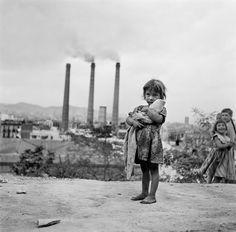 Gitanilla.-Montjuic.Barcelona.-1950