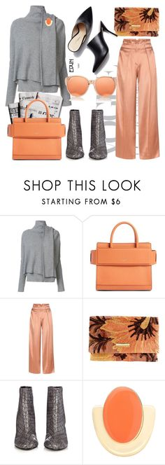 """""""Day time or night, but always a lady"""" by tiraboschi-b ❤ liked on Polyvore featuring Edun, 7 For All Mankind, Givenchy, Giorgio Armani, STELLA McCARTNEY, 3.1 Phillip Lim and Linda Farrow"""
