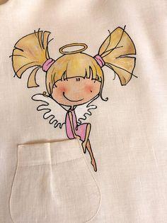 Diese Spitze, weiß, hell und luftig-Vintage-Stil Mädchen Kleid mit handgemalten Engel und Blumen ist einzigartiges Kleid für die Taufe Unser Kleinkind Leinen Beige Kleid mit gemalten süße Illustration ist sehr bequem und mit viel Liebe und Sorgfalt hergestellt. Unsere Vintage-Stil Kleid