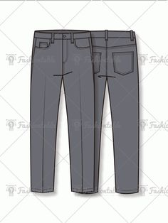 mpt003-utilty-comfort-fit-trousers_v-1 Flat Sketches, Fashion Flats, Fashion Sketches, Leather Pants, Trousers, Mens Fashion, Template, Fitness, Fashion Design