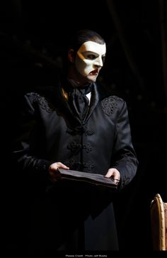 Ben Lewis as The Phantom, my god he's sexy! I do agree!