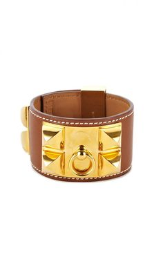 Hermes Barenia Collier De Chien CufI love cuffs