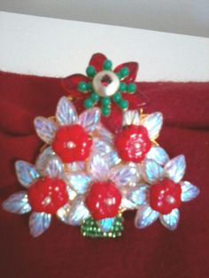 Gorgeous Stanley Hagler Christmas Tree Pin Excellent Condition