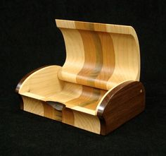 Wood Keepsake Box by cooperswoodstudio on Etsy
