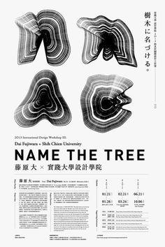 joshuawenck: jah   jailbait: Inernational Design Workshop III: Name The Tree / Dai Fujiwara + SCU