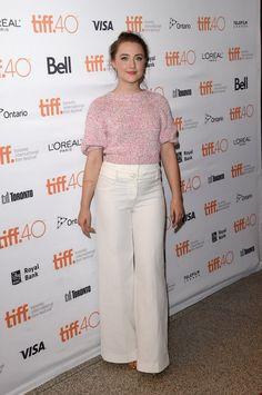 Pin for Later: Désolé NYFW — Mais Il y Avait des Stars Tout Aussi Stylées au Festival du Film de Toronto Saoirse Ronan