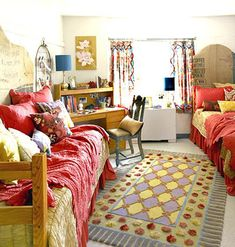 College Dorm Interior Design Ideas