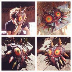 The Legend of Zelda Wooden Majora's Mask