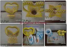 Le creazioni di Cristina: Vaso origami 3d-fiore 4 petali