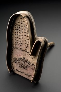 Hand brand, for use on felons or deserters, England, 1642-1649: Branding tools were sometimes used to permanently stamp or tattoo army deserters or criminals. This hand-shaped example was made by the...