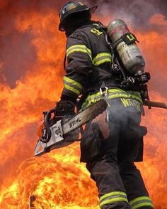 """FEATURED POST  @firefightersmotive -  The Devil whispers """"You cannot withstand the storm."""" The Warrior replies """"I am the Storm.""""  (Photo Belongs To Brian Mattson)  ___Want to be featured? _____ Use #chiefmiller in your post ... http://ift.tt/2aftxS9 . CHECK OUT! Facebook- chiefmiller1 Periscope -chief_miller Tumblr- chief-miller Twitter - chief_miller YouTube- chief miller . . .  #firetruck #firedepartment #fireman #firefighters #ems #kcco  #brotherhood #firefighting #paramedic #firehouse…"""