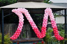 Central Florida Balloon Decor. bridal shower