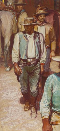 Image Detail For Western And Art Of The West Western Art Original Oil Paintings Art