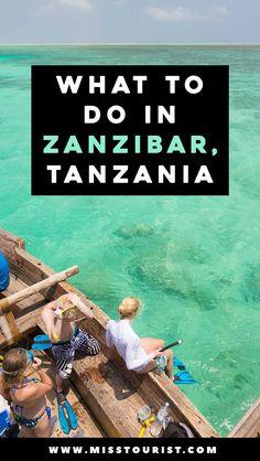 Top 10 Best Things to Do In Zanzibar, Tanzania
