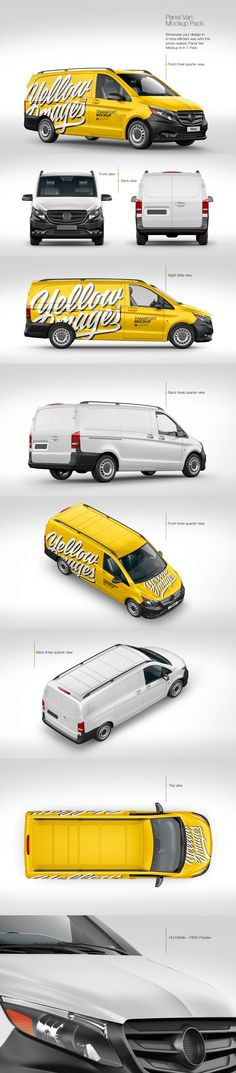 Download Van Mockup Psd 6 Views Yellowimages