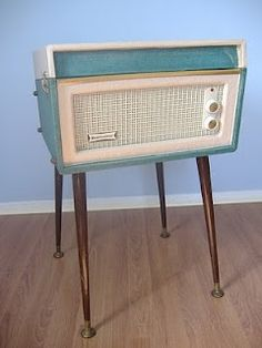 Vintage 60s Dansette Bermuda. I used to listen to thumbelina, tom thumb and jack and the beanstock EVERYNIGHT when i was a little girl on one just like this.