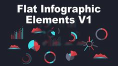 kleuren, elements infographics