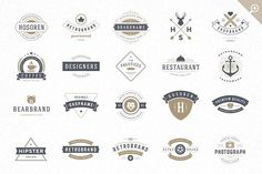 420 Vintage logotypes and badges - Logos