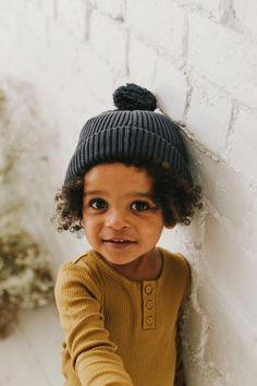 Toddler Fashion, Kids Fashion, Cute Kids, Cute Babies, Toddler Boys, Baby Kids, Pom Pom Hat, Beautiful Babies, Beautiful Children