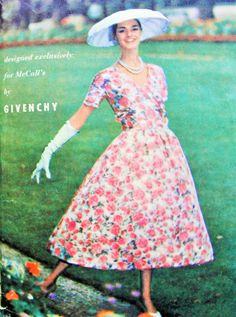 50s RARE Givenchy Dress, Petticoat Pattern McCalls 4006 Beautiful Evening Party Cocktail Dress Vintage Sewing Pattern Bust 34 by SoVintageOnEtsy on Etsy https://www.etsy.com/uk/listing/274716606/50s-rare-givenchy-dress-petticoat