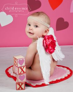 Infant Girl Angel Wings|Feather Angel Wing Photo Prop|Baby Girl Angel Wings
