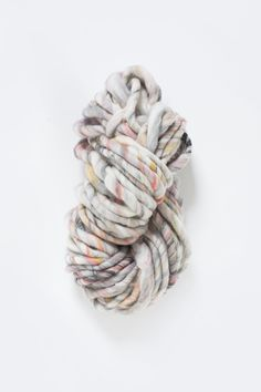 Wanderlust Yarn by Knit Collage - Super Bulky yarn for hand knitting - all hand carded and handspun wool. Color Free to Be!