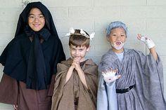 Saint costume ideas.
