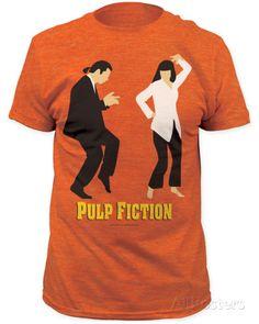 Pulp Fiction- Dance Contest Shirt at AllPosters.com
