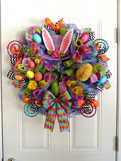 18 Веселая Пасха ручной венки, чтобы получить ваш дом в праздничный дух