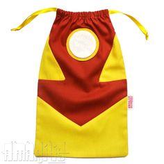 sacola de lembrancinha homem de ferro