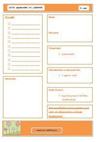 8. nap Monet, Bullet Journal, Cleaning, Organization, Health, Zero Waste, Calendar, Getting Organized, Organisation