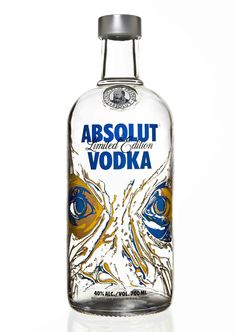 absolut limited edition bottle