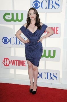Kat Dennings Wows In Plunging Dress At The 'Late Show With David Letterman' | The Huffington Post