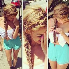 This is a French Braid's world!!!
