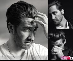 Actor Jake Gyllenhaal in some black & white portraits by photographer and fashion designer Hedi Slimane for VMAN's latest issue. Shot for the cover story, Gyllenhaal wears simple basics for a laid-back series to promote his latest film, Prisoners.  Join us in Tumblr & watch more pics > http://blog.thecelebarchive.net/