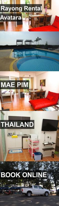 Hotel Rayong Rental Avatara in Mae Pim, Thailand. For more information, photos, reviews and best prices please follow the link. #Thailand #MaePim #travel #vacation #hotel