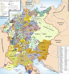 Germanic states 1400