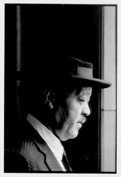 Lester Young looking out of the window