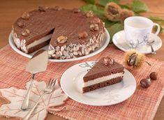 Kastanientorte Cakes And More, Tiramisu, Muffins, Vegan, Sweet, Ethnic Recipes, Desserts, Food, Petra
