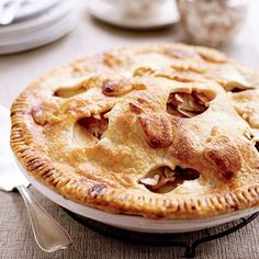 Fun apple cutouts in the crust will clue the whole family in to what fills this season-appropriate pie. Apples, pears, and cherries capture the essence of the harvest season.