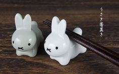 Arts And Crafts For Kids Product Chopstick Holder, Chopstick Rest, Diy And Crafts, Crafts For Kids, Arts And Crafts, Craft Desk, Egg Holder, Miffy, Kawaii