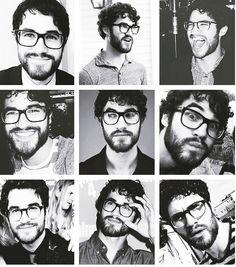 darren + glasses + beard