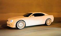 White on White Camaro