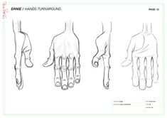 Feature Design by Barry Reynolds: February 2012 Hand Drawing Reference, Anatomy Reference, Drawing Tips, Character Design Animation, Character Design References, Character Drawing, Jamie Hewlett Art, Gorillaz Art, Anatomy Drawing