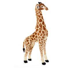 Giraffe Knuffel XL | Staande Knuffels van Childhome - Hieppp Jungle Party, Xl, Giraffe, Animals, Giraffes, Animales, Animaux, Animal Memes, Animal