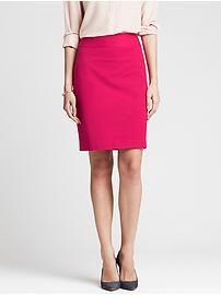Sloan-Fit Pink Pencil Skirt