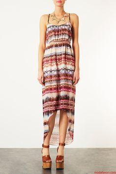 Topshop Uzun Elbise Modelleri 2013