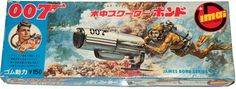 Box artwork for Thunderball themed Imai model kit from Japan. Description from classicbond.com. I searched for this on bing.com/images